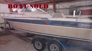Walleye Com 1984 23 Imperial Vc230 Boat