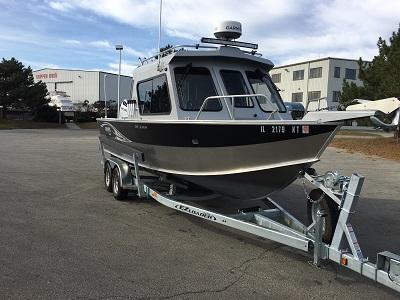 "Walleye com: 2015 26' 5"" Hewescraft Alaskan 240"