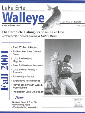 In this issue vol 6 for Lake erie perch fishing report central basin
