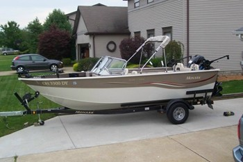 Great lakes fishing boats for sale for Monark fishing boats