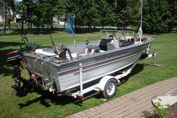 Fishing Boat Carpet Floor Matttroy