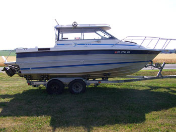 Great Lakes Fishing Boats For Sale - Bayliner boat decalsfour winns sun downer boat back to back seatbase stand red