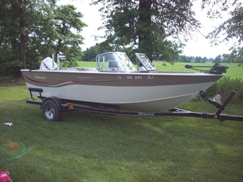 1983 american skier 21 ski boat priced to sell boat images for Fish and ski boats for sale craigslist