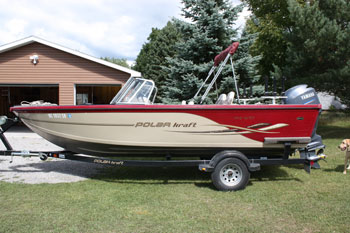 Used powerboats for sale 2007 16ft lowe sea nymph 1667t for Used aluminum fishing boats on craigslist