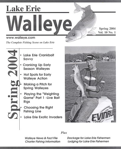 In this issue vol 6 for Lake erie western basin fishing report