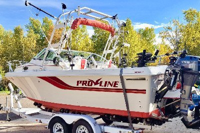 1996 Proline Cuddy Fish 22 22 ft