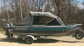 2004 North River Seahawk 19 ft