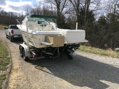 2000 Sportcraft 221 WA 22 ft | Walleye, Bass, Trout, Salmon Fishing Boat