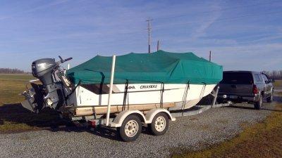 1997 Baha Cruisers 22-8walk around 22 ft   Lake Erie