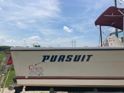 1987 Pursuit 2550 25 ft   Walleye, Bass, Trout, Salmon Fishing Boat