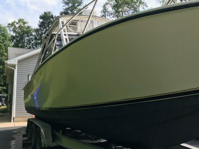 1992 Albemarle 275 EXPRESS 27 ft   Walleye, Bass, Trout, Salmon Fishing Boat