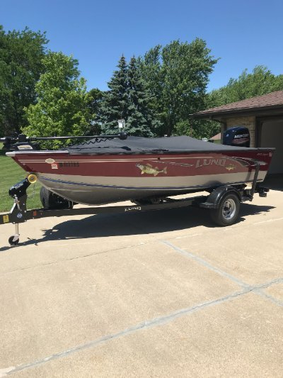 2018 Lund 1675 Impact SS 17 ft