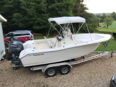 2011 Tidewater 216cc 21 ft | 2469 Ramsey Rd Butler Oh 44822