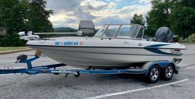 2001 Triton TX189DCF Walleye 19 ft   Lake Erie