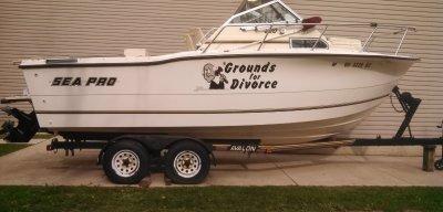 1993 Sea Pro 220 22 ft