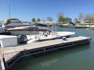 2015 Tidewater 22 Adventurer CC 22 ft | Whiskey Island Marina Cleveland Ohio Dock D4