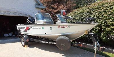 2008 Alumacraft Navigator 175 Sport 18 ft   Lake Erie