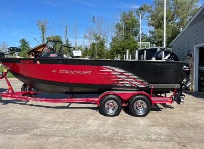 2016 Starcraft Fishmaster 210 21 ft