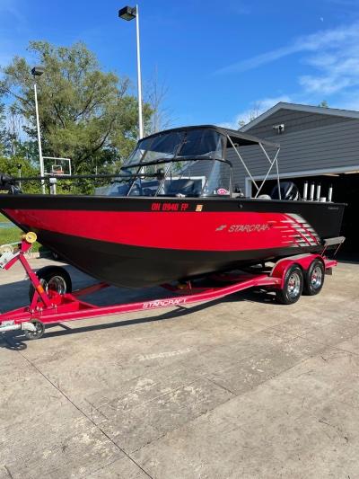 2016 Starcraft Fishmaster 210 21 ft | Lake Erie