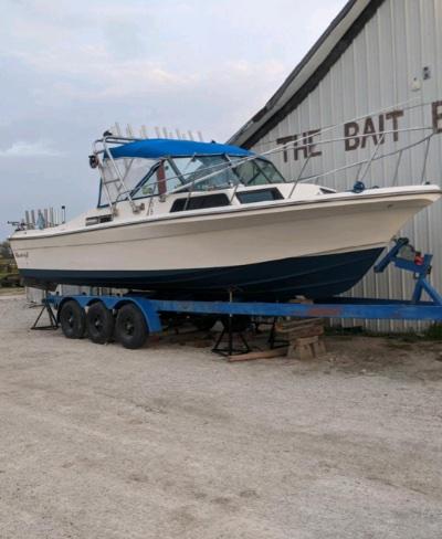 1986 Sportcraft 27 Fisherman 27 ft