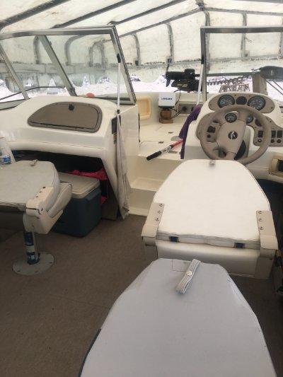 1998 Sylvan V180 Viper (Fiberglass) 18 ft | Lake Poinsett in Arlington, SD 57212 (on covered Boat Lift)