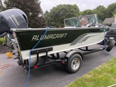 2013 Alumacraft Trophy 205 21 ft   Lake Erie