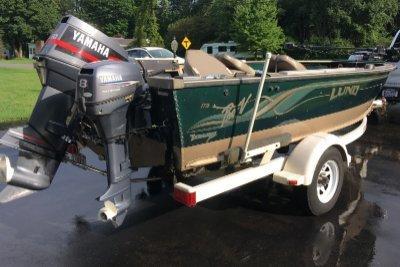 1999 Lund Pro V 1775 17 ft | Walleye, Bass, Trout, Salmon Fishing Boat