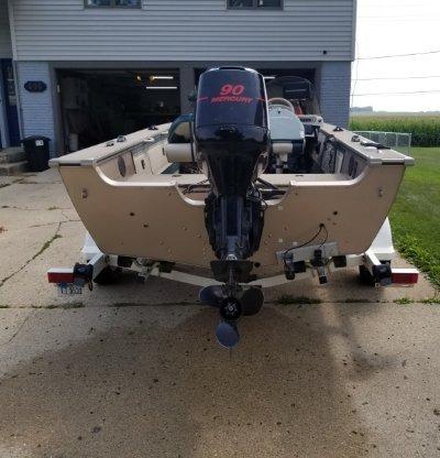 2000 Alumacraft Pro tournament 170sc 17 ft | Lake Erie