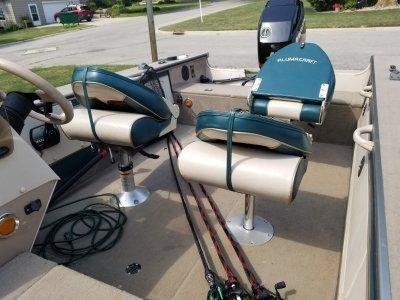 2000 Alumacraft Pro tournament 170sc 17 ft | Walleye, Bass, Trout, Salmon Fishing Boat