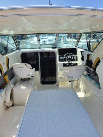 2000 Sportcraft 252 fisherman 25 ft   Lake Erie